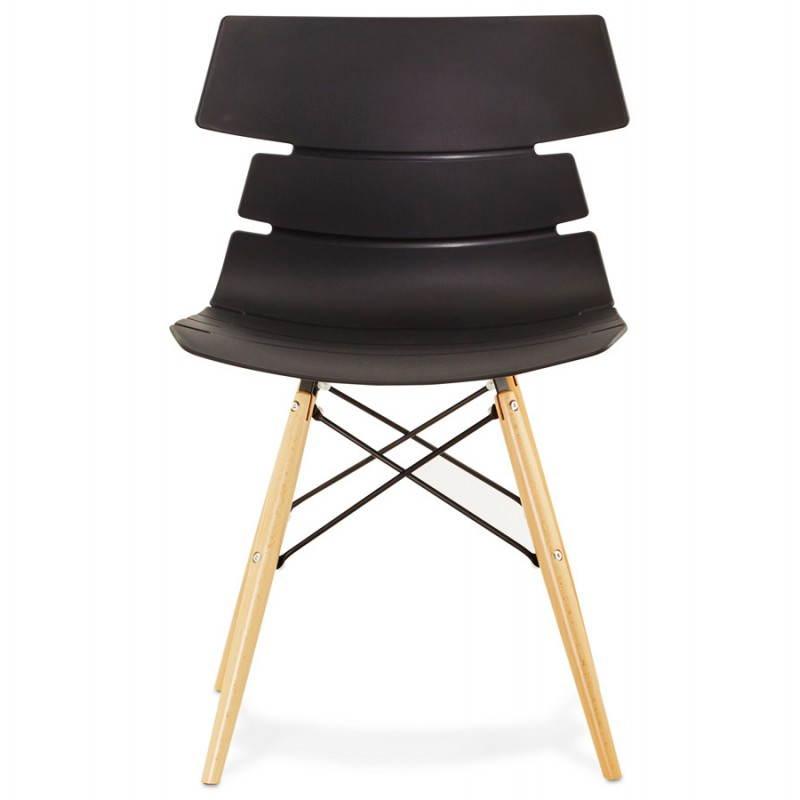 Chaise originale style scandinave CONY (noir) - image 22748