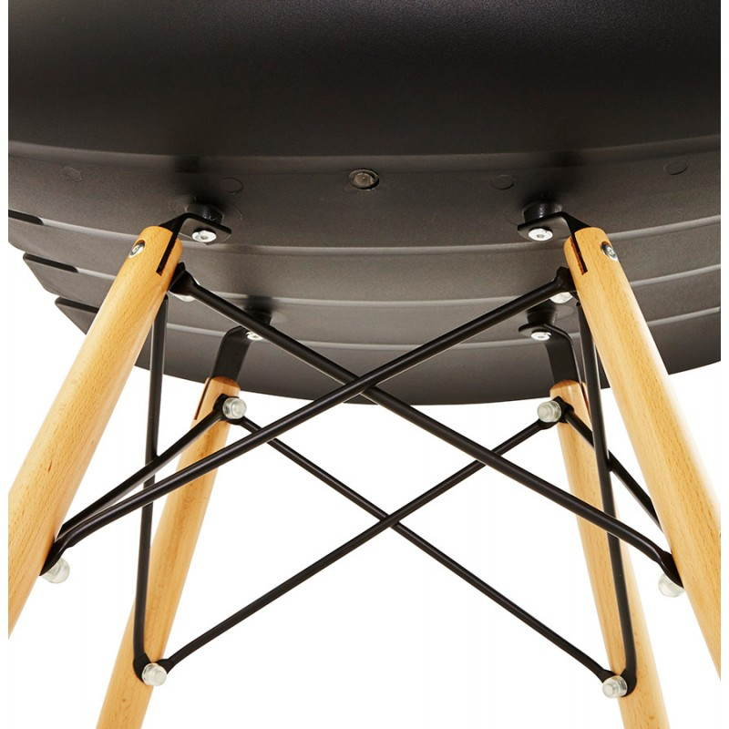 Chaise originale style scandinave CONY (noir) - image 22756