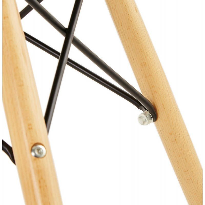 Chaise originale style scandinave CONY (noir) - image 22758