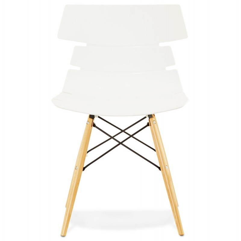 Chaise originale style scandinave CONY (blanc) - image 22764