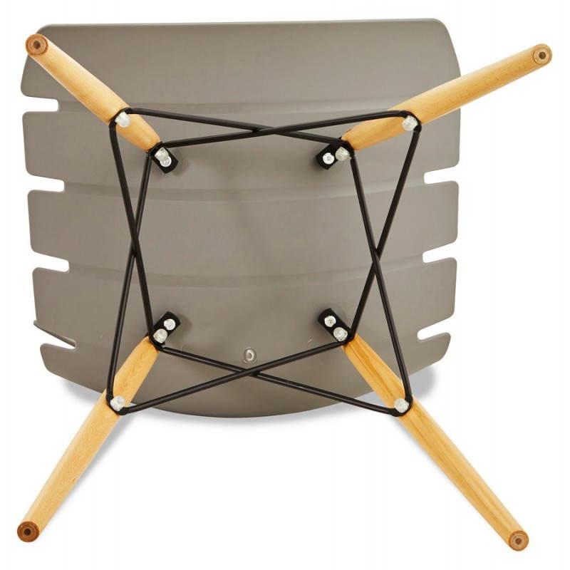 Estilo de silla original escandinavo CONY (gris) - image 22790