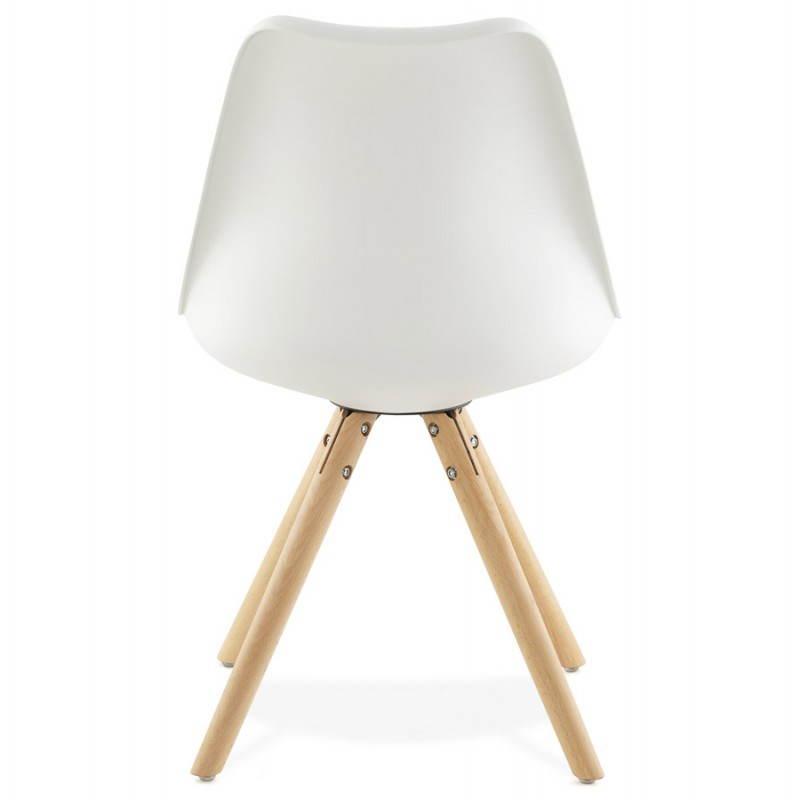 Moderner Stuhl Stil skandinavischen NORDICA (weiß) - image 22797