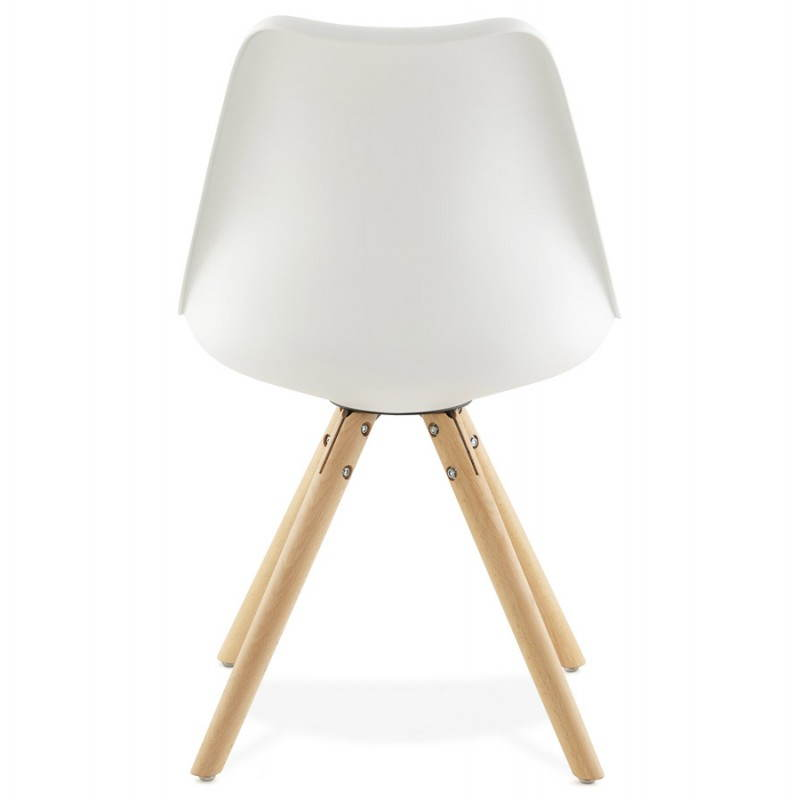 Modern Chair style Scandinavian NORDICA (white) - image 22797