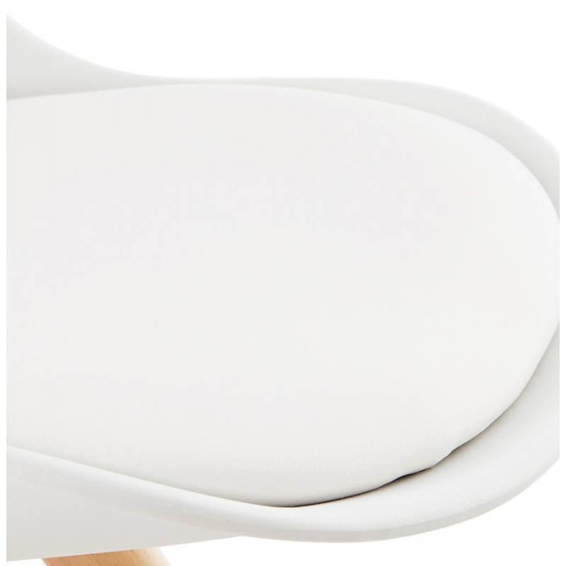 Moderner Stuhl Stil skandinavischen NORDICA (weiß) - image 22799