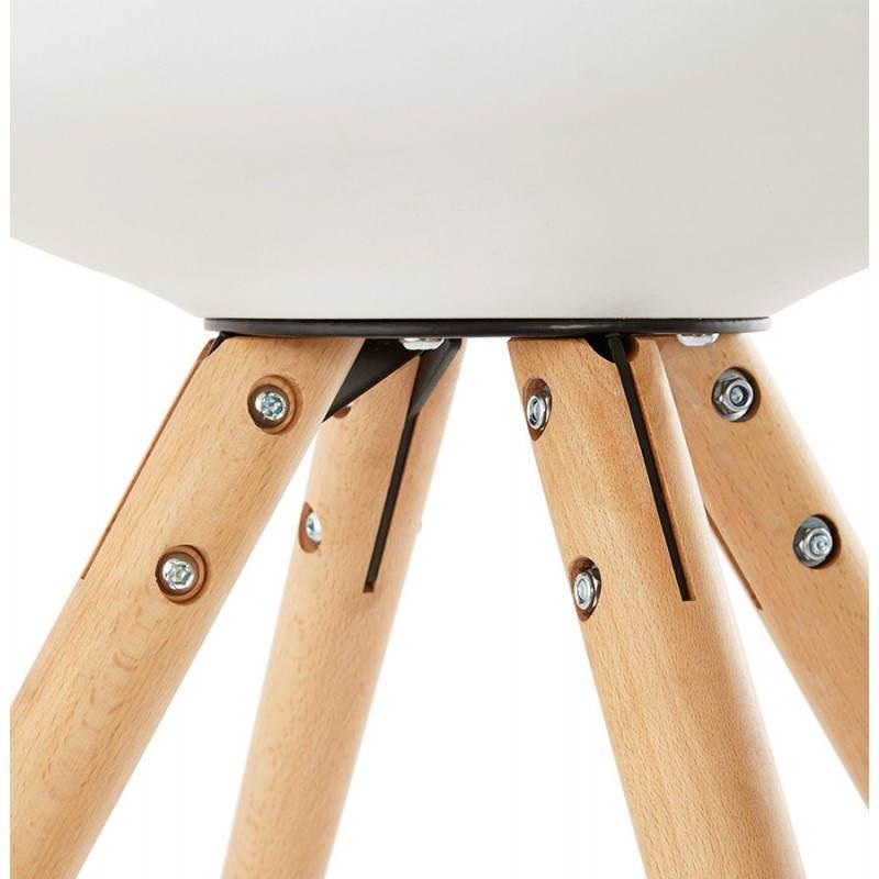Moderner Stuhl Stil skandinavischen NORDICA (weiß) - image 22801