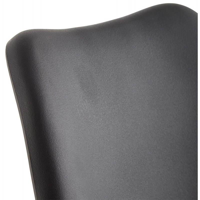 Estilo moderno de la silla NORDICA escandinava (negro) - image 22814
