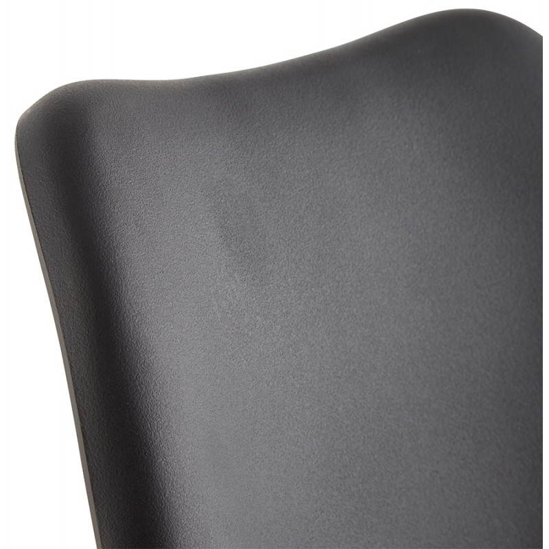 Sedia moderna stile scandinavo NORDICA (nero) - image 22814