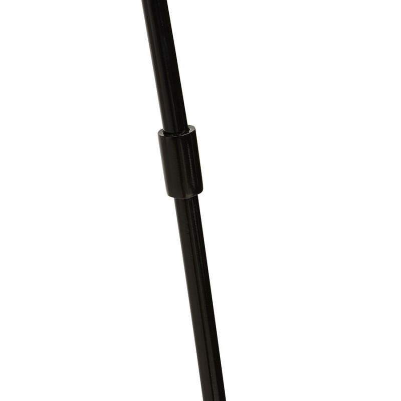 Lampada design tessuto AVERSA (nero) del piede - image 23021