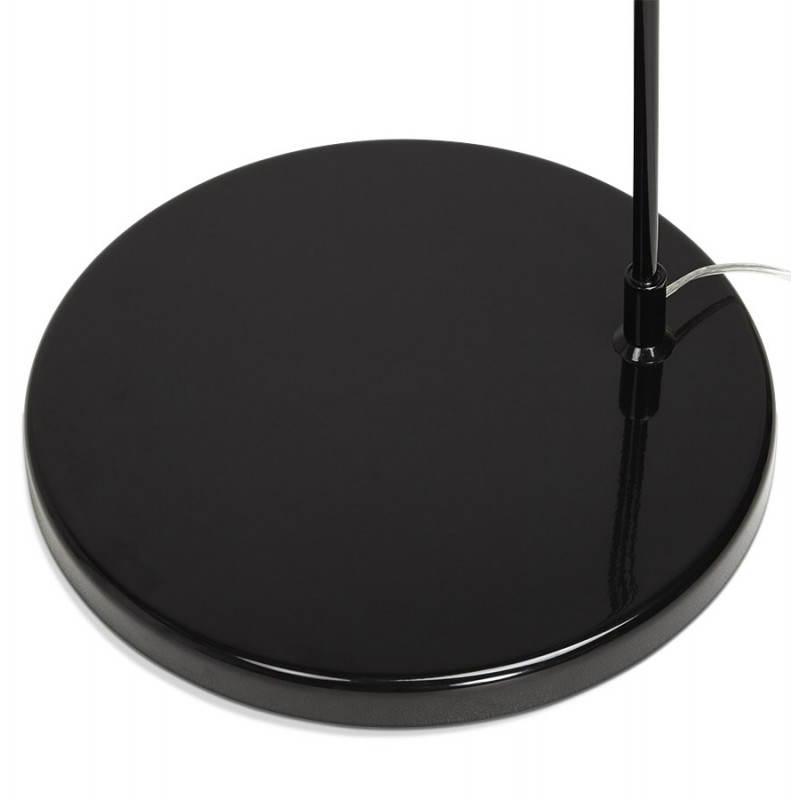 Lampada design tessuto AVERSA (nero) del piede - image 23022
