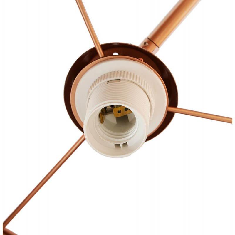 Lampe sur pied de style industriel TURIN (cuivre) - image 23047