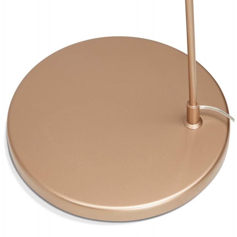 Lampe sur pied de style industriel TURIN (cuivre) - image 23051