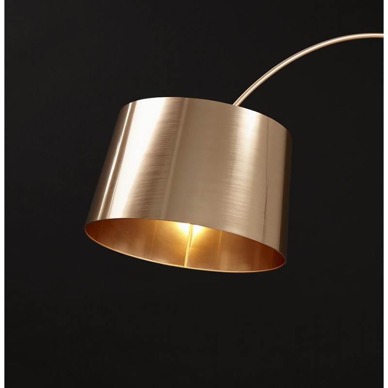 Lampe sur pied de style industriel TURIN (cuivre) - image 23055