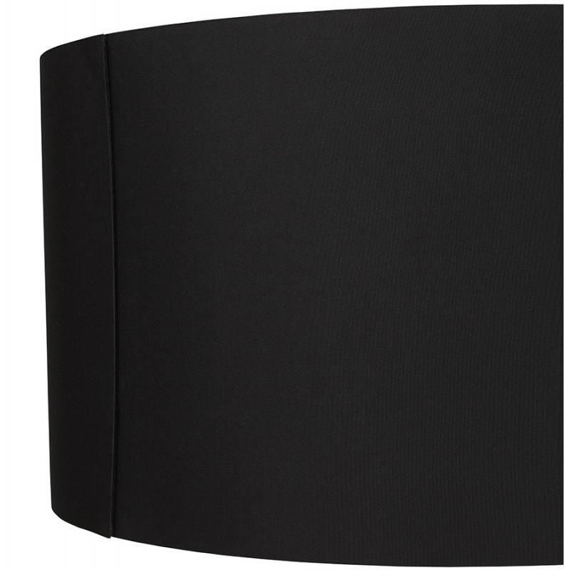 Scandinavian style TRANI (black) fabric floor lamp - image 23061