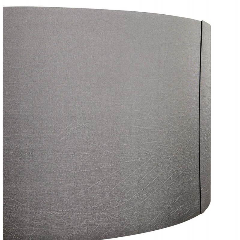 Lampe sur pied de style scandinave TRANI en tissu (gris, naturel) - image 23123
