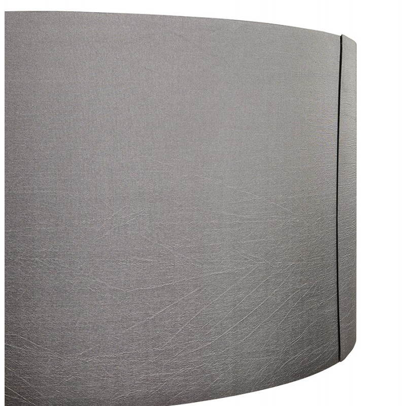 Scandinavian style TRANI (grey, natural) fabric floor lamp - image 23123
