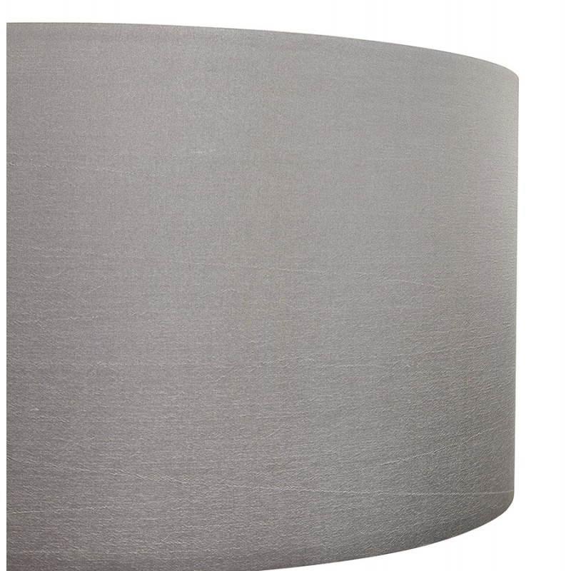 Lampe sur pied de style scandinave TRANI en tissu (gris, naturel) - image 23125
