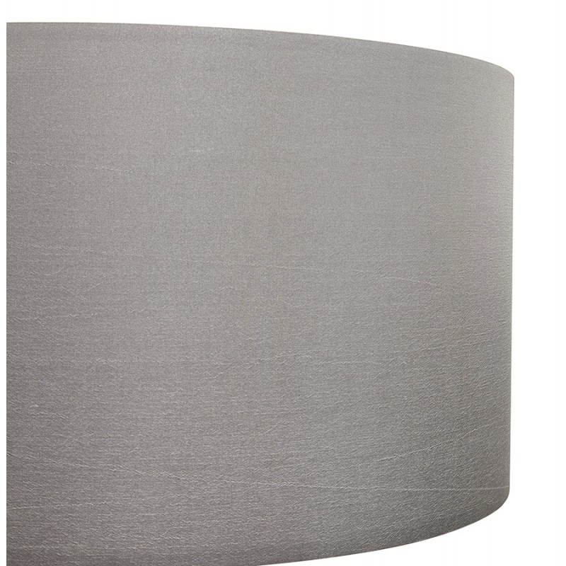 Scandinavian style TRANI in fabric (grey, white) floor lamp - image 23142