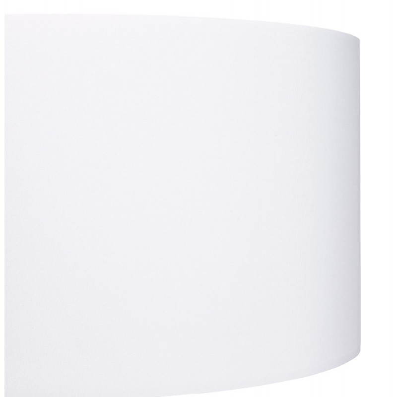 Lampe sur pied de style scandinave TRANI en tissu (blanc, noir) - image 23156
