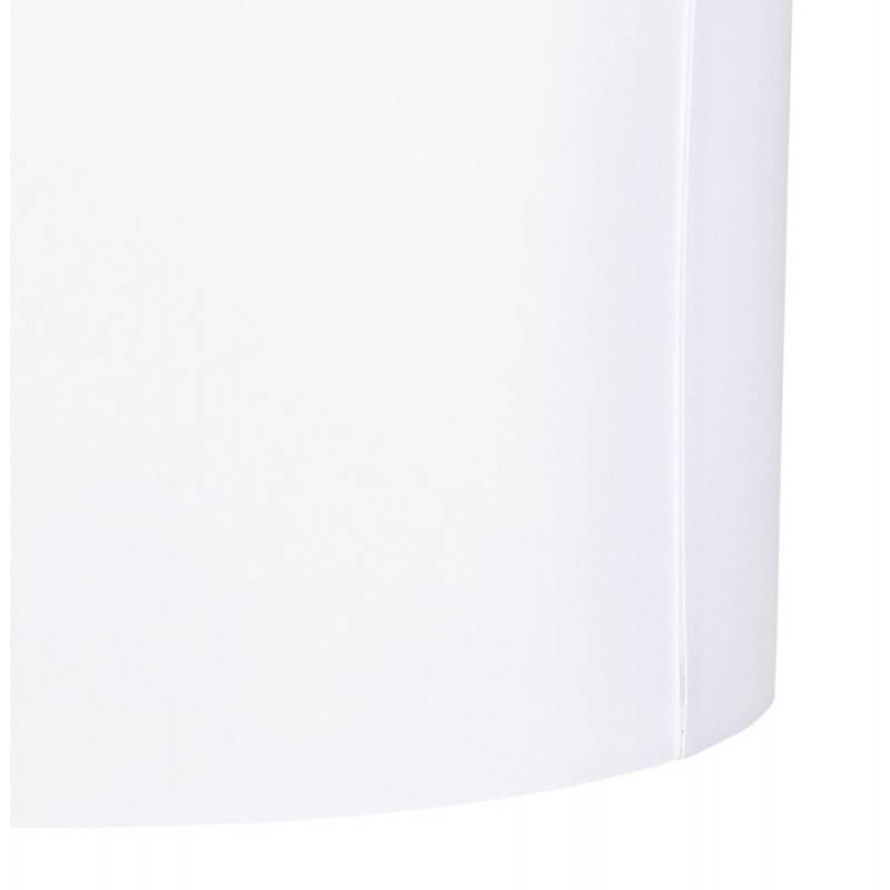 Lampe sur pied de style scandinave TRANI en tissu (blanc) - image 23190
