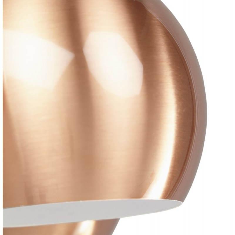 Lampe suspendue rétro 7 boules GELA en métal (cuivre) - image 23213