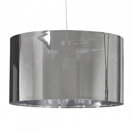 Suspended lamp shape cylindrical LATIN (chrome)