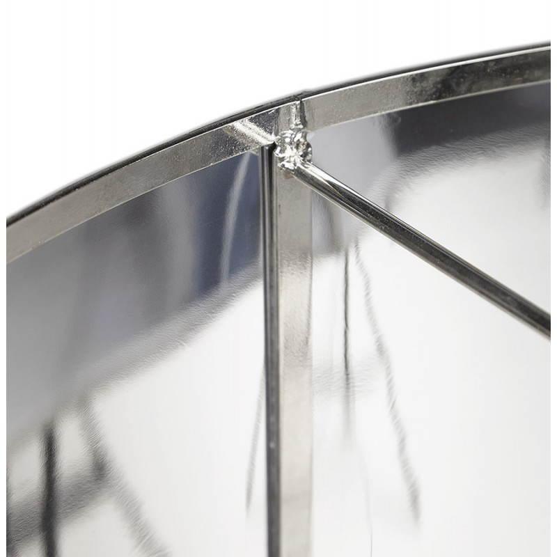 Lampe suspendue forme cylindrique LATIN (chromé) - image 23233