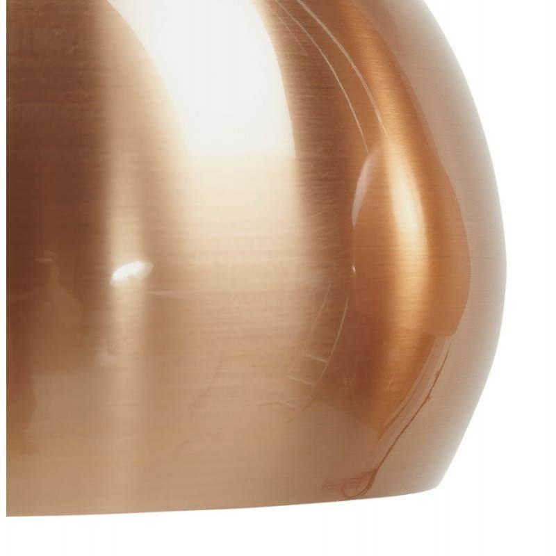 Lampe suspendue rétro 3 boules POUILLES en métal (cuivre) - image 23241
