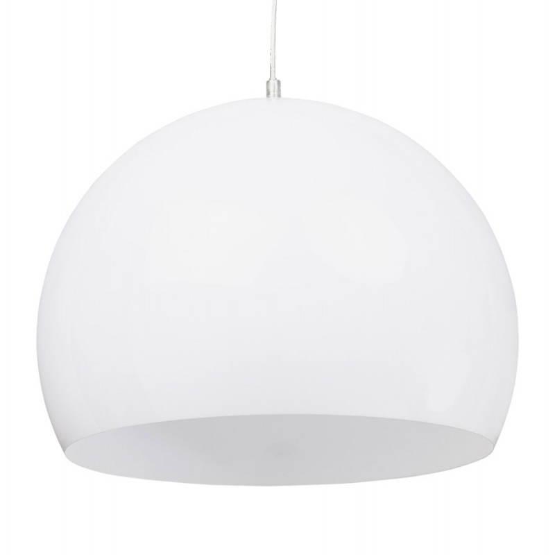 Lampe suspendue rétro et vintage ARA (blanc) - image 23262