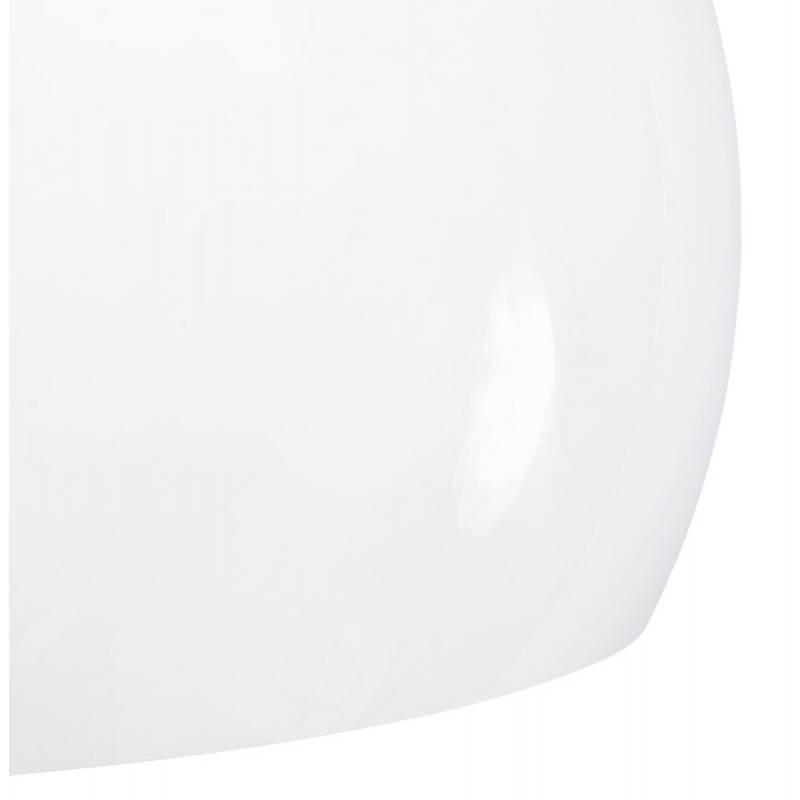 Lampe suspendue rétro et vintage ARA (blanc) - image 23263