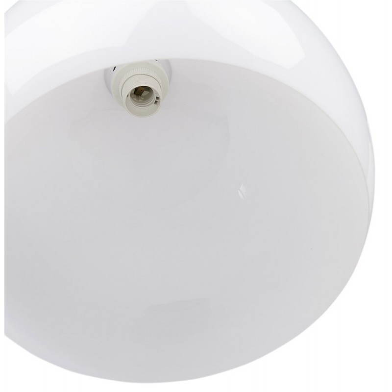 Lampe suspendue rétro et vintage ARA (blanc) - image 23264