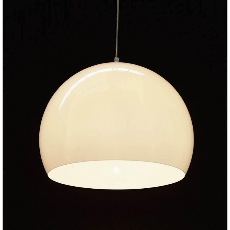 Lampe suspendue rétro et vintage ARA (blanc) - image 23269
