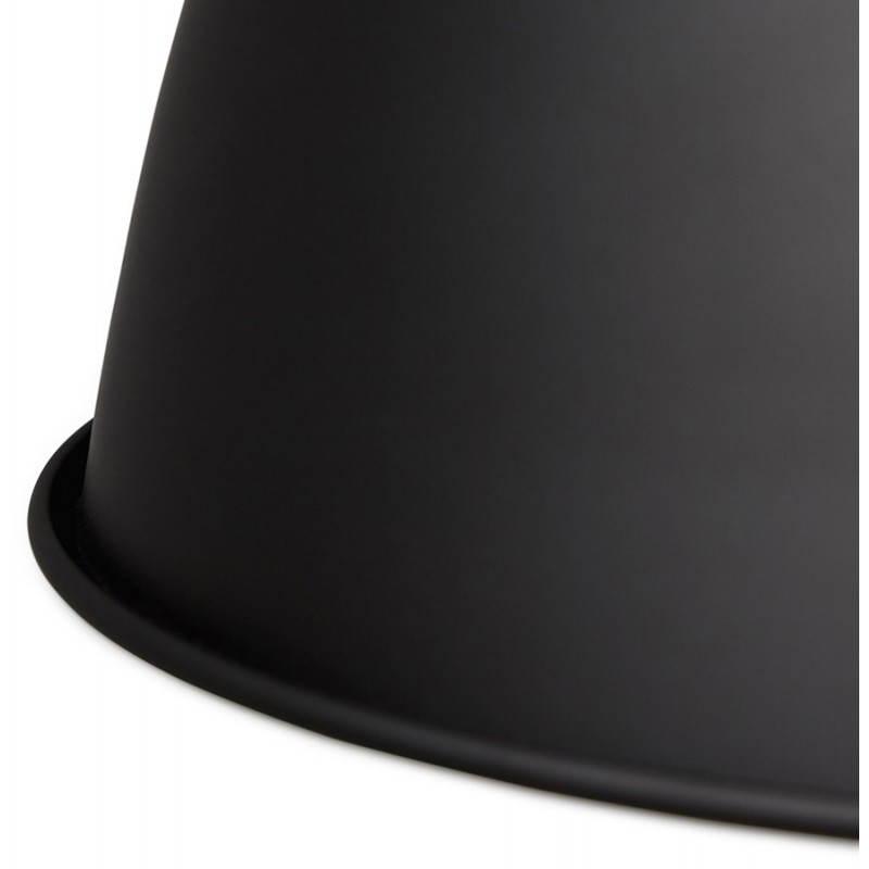 Lampe suspendue industrielle SAVONE en métal (noir mat) - image 23284