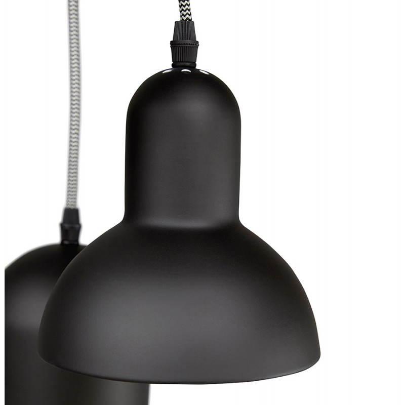 lampe suspendue industrielle 6 globes matera en metal noir mat Résultat Supérieur 15 Beau Lampe Suspendue Industrielle Galerie 2017 Iqt4