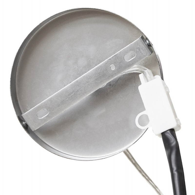 Lampe suspendue LATIUM en tissu (noir) - image 23318