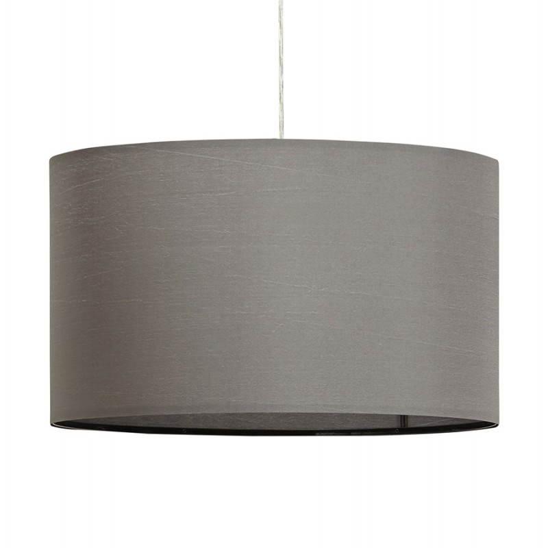 Lámpara de suspensión tela LAZIO (gris)