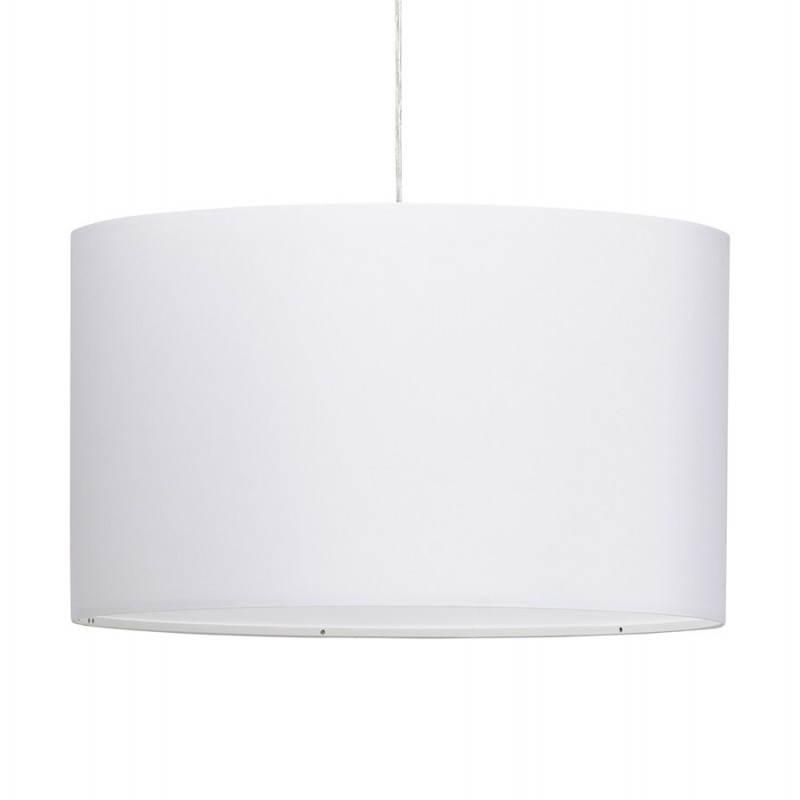 Lampe suspendue LATIUM en tissu (blanc) - image 23331