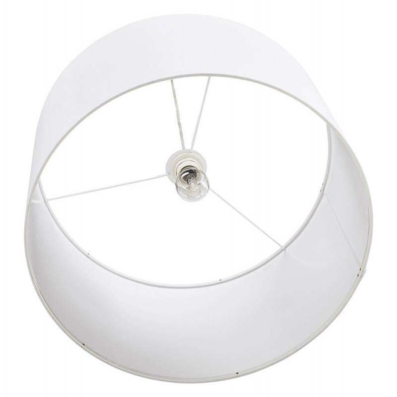 Lampe suspendue LATIUM en tissu (blanc) - image 23335