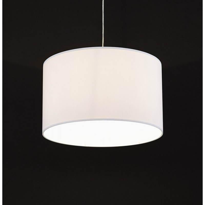 LAZIO ausgesetzt Stoff Lampe (weiss) - image 23340
