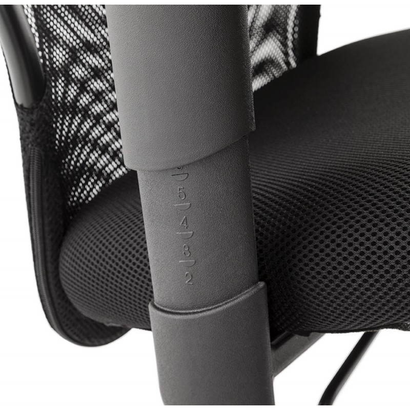 Fauteuil de bureau MODICA en tissu (noir) - image 23520