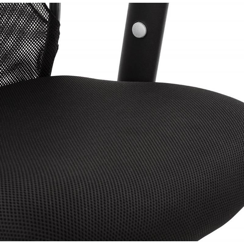 Fauteuil de bureau MODICA en tissu (noir) - image 23522