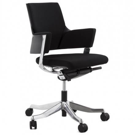 Ergonomic Office Chair brick (black) fabric