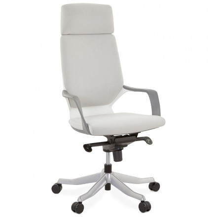 Ergonomic desk RAMY (grey) fabric Chair