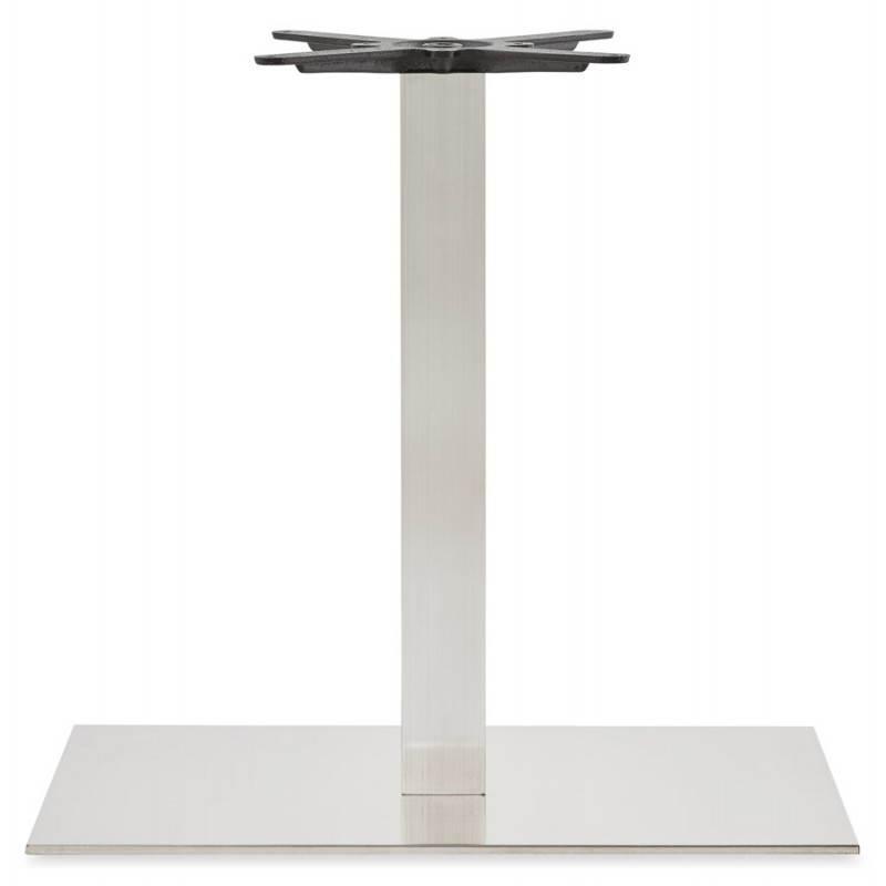 Pied de table POULI en métal brossé (40cmX75cmX75cm) - image 23590