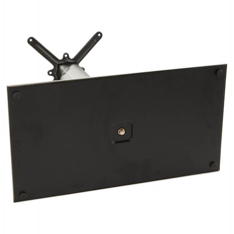 Pied de table POULI en métal brossé (40cmX75cmX90cm) - image 23605