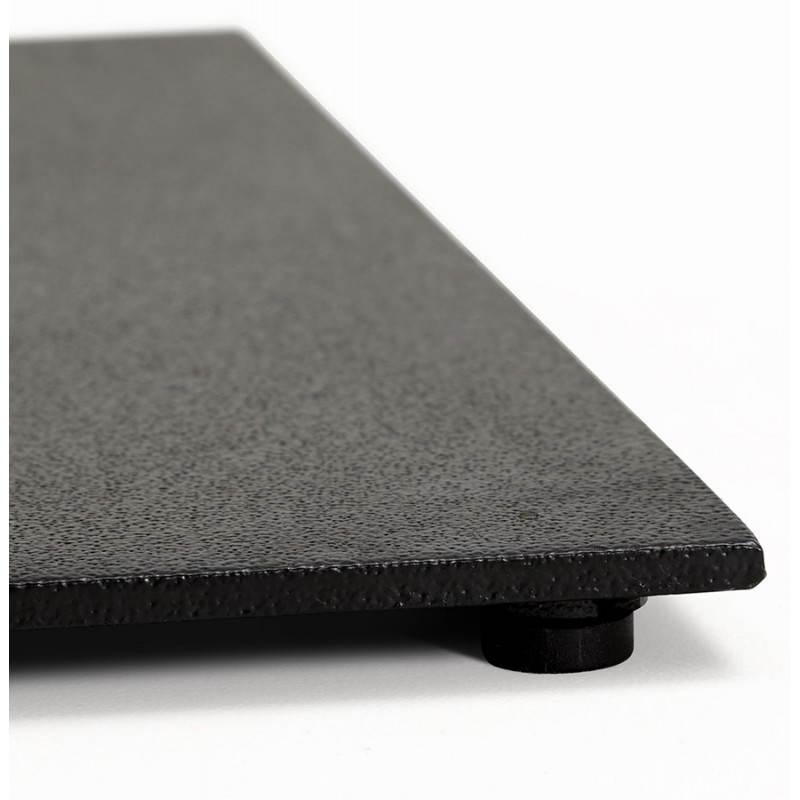 Doppelter Tischfuß RAMBOU aus lackierter Metall (50cmX100cmX73cm) (schwarz) - image 23614