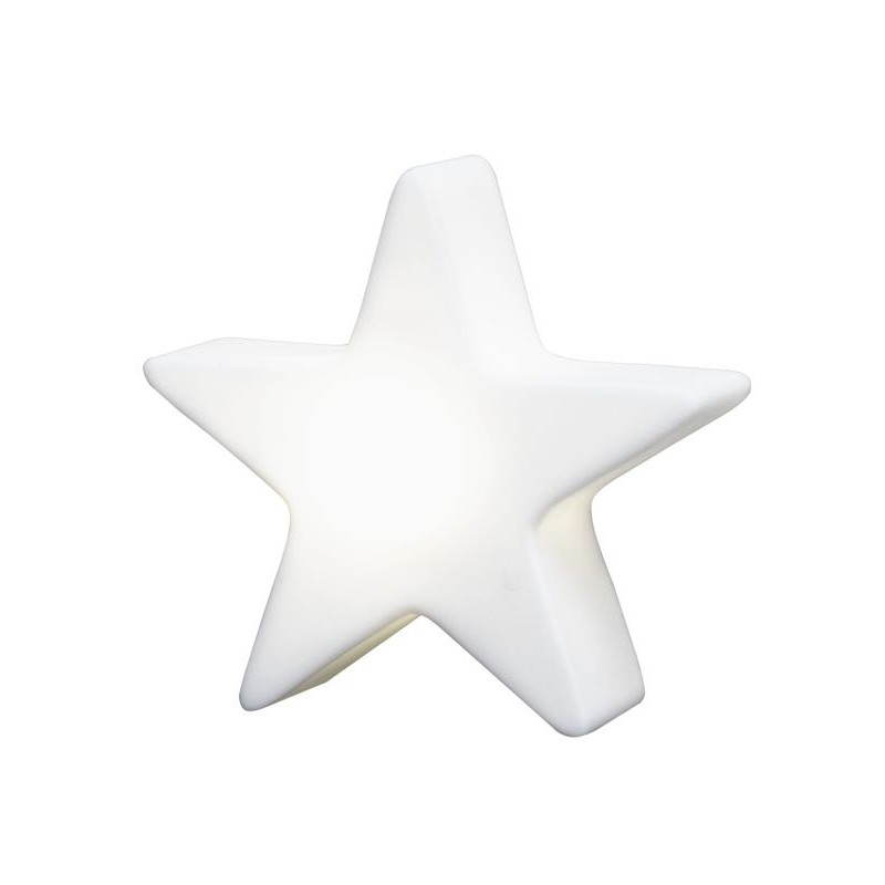 Etoile lumineuse intérieur extérieur DANA (blanc, LED multicolore Ø 60 cm) - image 23980