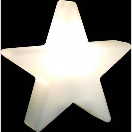 Stella luminoso coperta all'aperto DANA (bianco, multicolor LED Ø 60 cm)