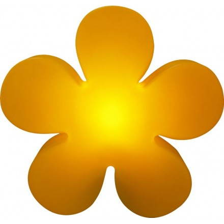 Esterno interno brillante fiore di trifoglio (arancione 60 cm Ø)