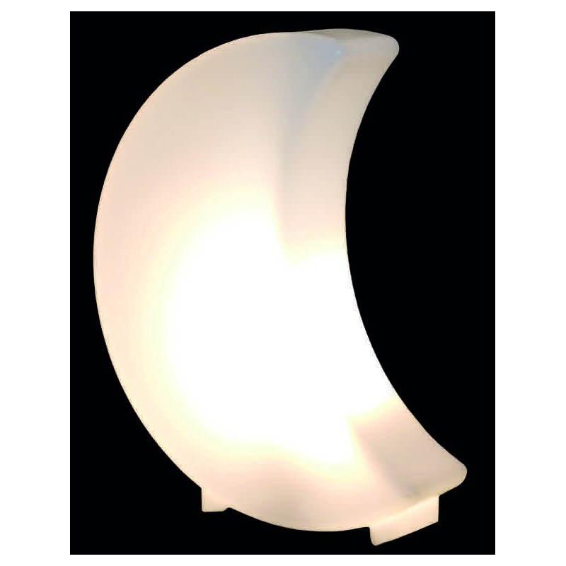 Lune lumineuse MOON intérieur extérieur (blanc, LED multicolore, H 41 cm)