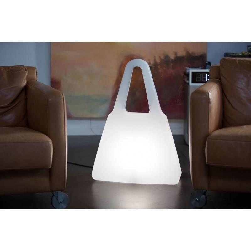 Lampe lumineuse SAC A MAIN intérieur extérieur (blanc, LED multicolore) - image 24464